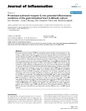 """Báo cáo y học: """"Proteinase-activated receptor-2: two potential inflammatory mediators of the gastrointestinal tract in Atlantic salmon"""""""