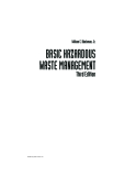 BASIC HAZARDOUS WASTE MANAGEMENT - CHAPTER 1