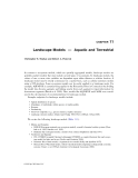 Ecological Modeling in Risk Assessment - Chapter 11