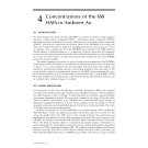 HAZARDOUS AIR POLLUTANT HANDBOOK: Measurements, Properties, and Fate in Ambient Air - Part 4