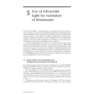 Ultraviolet Light in Water and Wastewater Sanitation - Chapter 5