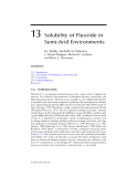 Geochemical and Hydrological Reactivity of Heavy Metals in Soils - Chapter 13 (end)