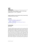 LANDSCAPE ECOLOGY A Top-Down Approach - Chapter 12 (end)