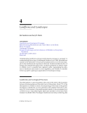 LANDSCAPE ECOLOGY A Top-Down Approach - Chapter 4