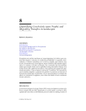 LANDSCAPE ECOLOGY A Top-Down Approach - Chapter 8