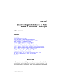 LANDSCAPE ECOLOGY in AGROECOSYSTEMS MANAGEMENT - CHAPTER 7