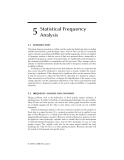 Modeling Hydrologic Change: Statistical Methods - Chapter 5