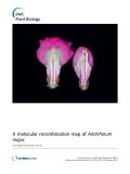 """báo cáo khoa học: """" A molecular recombination map of Antirrhinum majus"""""""