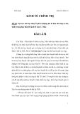 Học thuyết giá trị thặng dư của C.Mac