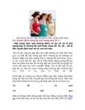 Ưu nhược điểm từng độ tuổi mang thai (P.1)