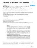 "Báo cáo y học: ""Epithelioid hemangioma (angiolymphoid hyperplasia with eosinophilia) of the orbit: a case report"""