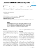 """Báo cáo y học: """"Non union of scaphoid fracture in a cricketer – possibility of a stress fracture: a case report"""""""