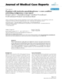 """Báo cáo khoa hoc:"""" A patient with testicular pseudolymphoma – a rare condition mimicking malignancy: a case report"""""""