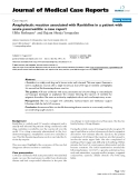 """Báo cáo khoa hoc:"""" Anaphylactic reaction associated with Ranitidine in a patient with acute pancreatitis: a case report"""""""