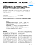 """Báo cáo khoa hoc:""""   Intestinal obstruction: a rare complication of channeling Transurethral Resection of the Prostate (TURP): a case report"""""""