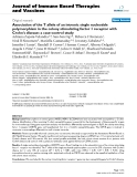 """Báo cáo y học: """"Association of the T allele of an intronic single nucleotide polymorphism in the colony stimulating factor 1 receptor with Crohn's disease: a case-control study"""""""