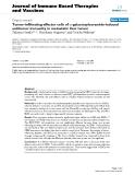 "Báo cáo y học: ""Tumor-infiltrating effector cells of α-galactosylceramide-induced antitumor immunity in metastatic liver tumor"""
