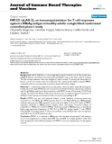 "Báo cáo y học: ""IMP321 (sLAG-3), an immunopotentiator for T cell responses against a HBsAg antigen in healthy adults: a single blind randomised controlled phase I study"""