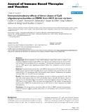"Báo cáo y học: ""Immunostimulatory effects of three classes of CpG oligodeoxynucleotides on PBMC from HCV chronic carriers"""