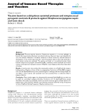 """Báo cáo y học: """" Vaccine based on a ubiquitous cysteinyl protease and streptococcal pyrogenic exotoxin A protects against Streptococcus pyogenes sepsis and toxic shock"""""""