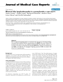 """Báo cáo y học: """"Bilateral hilar lymphadenopathy in a young female: a case report"""""""