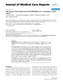 "Báo cáo y học: "" Life-saving automated external defibrillation in a teenager: a case report"""