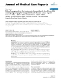 """Báo cáo y học: """"Role of vasopressin in the treatment of anaphylactic shock in a child undergoing surgery for congenital heart disease: a case report"""""""