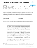 """Báo cáo y học: """"Granulomatous cheilitis associated with exacerbations of Crohn's disease: a case report"""""""