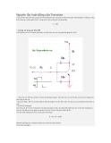 Nguyên tắc hoạt động của Transistor