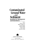 Contaminated Ground Water and Sediment - Chapter 1