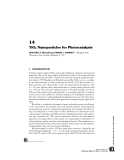 INTERFACIAL APPLICATIONS IN ENVIRONMENTAL ENGINEERING - CHAPTER 14