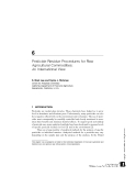 PESTICIDES IN AGRICULTURE AND THE ENVIRONMENT - CHAPTER 6