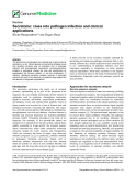 "báo cáo khoa học: "" Secretome: clues into pathogen infection and clinical applications"""