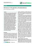 "báo cáo khoa học: "" Advances in the genetics of endometriosis"""
