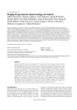 "báo cáo khoa học: "" Bridging the gap between systems biology and medicine"""
