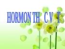 Giáo án điện tử sinh học: Sinh học lớp 12-Hoormon Thực Vật