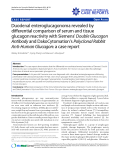 """Báo cáo y học: """"Duodenal enteroglucagonoma revealed by differential comparison of serum and tissue glucagon reactivity with Siemens' Double Glucagon Antibody and DakoCytomation's Polyclonal Rabbit Anti-Human Glucagon: a case report"""""""