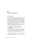 Environmental Fluid Mechanics - Chapter 2