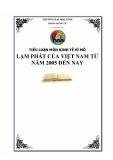 Tiểu luận: Lạm phát của Việt Nam từ 2005 đến nay