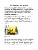 Bài thuốc chữa bệnh từ chuối