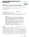 "báo cáo khoa học: "" Socially assistive robotics for post-stroke rehabilitation"""