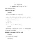 Bài 3: THỰC HÀNH XÁC ĐỊNH ĐIỆN TRỞ CỦA MỘT DÂY DẪN BẰNG AMPE KẾ VÀ VÔN KẾ