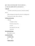 Bài 57: THỰC HÀNH NHẬN BIẾT ÁNH SÁNG ĐƠN SẮC VÀ ÁNH SÁNG KHÔNG ĐƠN SẮC BẰNG ĐĨA CD