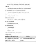 Bài 61: SẢN XUẤT ĐIỆN NĂNG - NHIỆT ĐIỆN VÀ THUỶ ĐIỆN