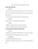 Bài 6: BÀI TẬP VẬN DỤNG ĐỊNH LUẬT ÔM