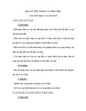 Bài 8: SỰ PHỤ THUỘC CỦA BIẾN TRỞ VÀO TIẾT DIỆN CỦA DÂY DẪN