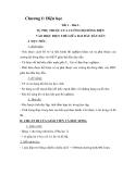 Chương I: Điện học Tiết 1 – Bài 1: SỰ PHỤ THUỘC CỦA CƯỜNG ĐỘ DÒNG ĐIỆN