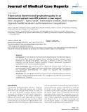 """Báo cáo y học: """"Tuberculous disseminated lymphadenopathy in an immunocompetent non-HIV patient: a case report"""""""