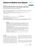 "Báo cáo y học: ""Imprint cytology of osteosarcoma of the jaw: a case report"""