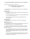 MỘT SỐ PHƯƠNG PHÁP GIẢI PHƯƠNG TRÌNH  ĐA THỨC BẬC CAO MỘT ẨN